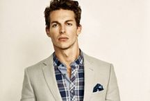 Men's Inspired Fashion / by Corina Mitchell Style