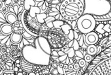 Zentangles, Zendoodles and Mandalas / Beautiful zendoodles and more / by Kathy Ahrens