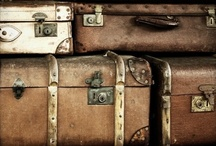 TRAVEL : old luggage / by Monique Robinson