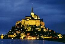 FRANCE : Mont St Michel & Normandie / by Monique Robinson