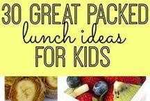 Organizing~Kid Food Ideas / food | lunch ideas for kids