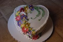 Decorated, Frosted and Fantastic / Decorated cakes and goodies.  / by Mary McCord