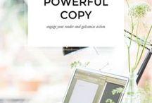 Copywriting / Copywriting for small business and entrepreneurs