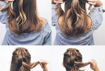 Hair tutorial / Step by step hair tutorial