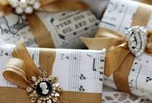 Gorgeous Gift Wrapping / by Grace My Table