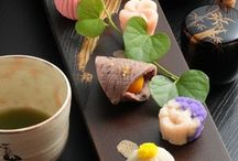 Tea and Wagashi  / Sweets to enjoy with Japanese Tea.  / by The Taste of Tea