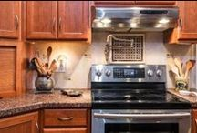 kitchen design ideas / Kitchen remodeling designs and ideas. / by MBC Building & Remodeling, LLC