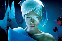 Trend // Space Age / Futuristic Fantasy, Space Babes, Scifi Retro