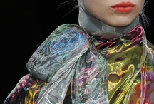 Fashion // Detail Oriented / Runway Details: assorted colors & textures
