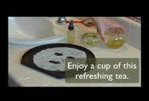 How To use Tea  in skincare / See How To use tea to enhance your beauty.  / by The Taste of Tea