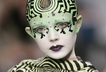 Trend // Alien Chic / What lies beyond the stars? Dark and beautiful mysterious beings dwell in natural and technological landscapes.