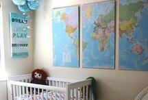 Travel Theme Nursery / I am adding new Baby pins here: www.pinterest.com/BabyHallBlog