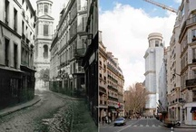 """Paris Before and After """"Haussmanization"""""""