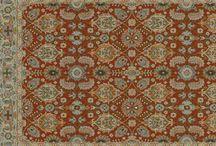 Tile oriental rug
