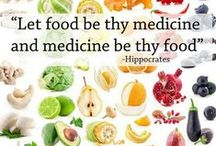 Healthy Tips / May food be our medicine and our medicine be our food.