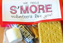 Volunteer Thank you gifts / Ideas for volunteer thank yous for VBS  / by Tonya Ruff Oriol