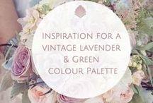 Theme // Lavender & Green