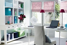 Home Office Organization / Make your office work for you by organizing it in a way that works for you.