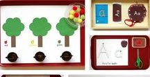 Apple Unit Study / Apple crafts, learning activities, sensory activities, printables, and unit studies for classroom or home!