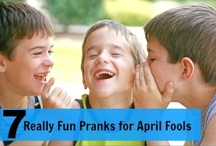 April Fools' Day / April Fools' Day history, printables, and lots of fun, harmless pranks! / by Deb @ Living Montessori Now