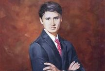 Portrait Commissions / Selected original oil portraits commissioned by families and corporations nationwide