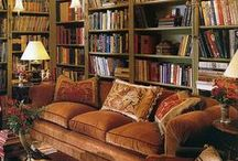 ~LIBRARIES~ / by Interiors by Tracy Lee