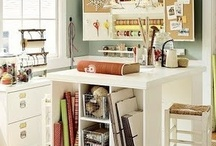 ~CRAFT ROOM~ / by Interiors by Tracy Lee