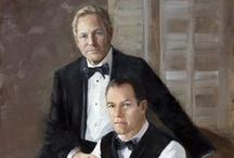 The Fine Art Wedding Portrait / Creating heirlooms, one couple at at a time. Engagement, bride & groom, mothers of the bride, flower girls...Original fine art portraits beginning at $8000.
