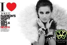 Invitaciones VFNO 2012 / Por segundo año consecutivo, México se une a 19 países y 23 ciudades en la celebración mundial de la fiesta de la moda, Vogue Fashion's Night Out. Además en esta segunda la sede de la inauguración oficial es Antara Fashion Hall, Septiembre 6, 2012. 18:00 horas.