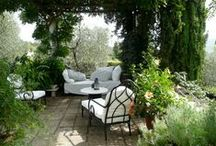 Small Yard - Porch, Patio plus / also see Projects - outdoors / by Pam Thompson