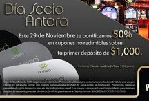 Promociones y eventos de noviembre en Antara