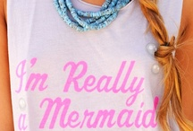 Secret Identity: MERMAID.<3 / by Haley Davis