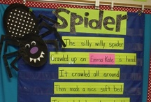 October: Spiders / All about spiders! / by Christine Wilfert