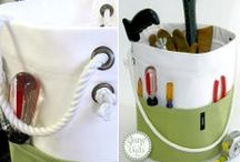 Projects and Crafts - totes, bags and baskets / by Pam Thompson