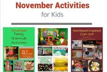 Calendar Activities for Kids / Calendar-based activities and ideas for classroom or home / by Deb @ Living Montessori Now