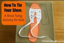 Practical Life Activities / Practical life or daily living activities for toddlers, preschoolers, and elementary-age kids