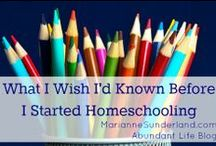 Homeschool Resources / Homeschooling curriculum and resources for a variety of ages