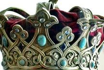 Crowning Glory / We all carry within us our own internal Queen. #crown #tiara #diadem / by Autumn Labbe-Renault