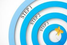 Goal Setting / Tips and tricks for setting and achieving goals and new year's resolutions.