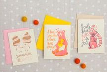 Love & Friendship Cards / by Hello!Lucky | Eunice & Sabrina Moyle