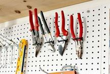 Garage Organization / Organize your tools, storage, and other items with these handy garage organization tips, tricks, and how to's.