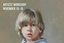 Portrait Painting Workshops