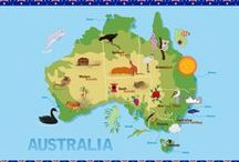 Australia Educational Resources / Montessori-inspired Australia continent and country activities and posts with resources about Australia. (Homeschool and classroom resources for easily creating unit studies to go with the Little Passports Australia package.) Almost all printables featured on this board will be free printables.