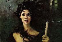 Gothic heroines / Classic Gothic romance.  / by Maria J Pérez Cuervo