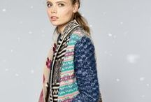 Women Winter Fashion by Desigual / Desigual winter edit is full of warm knits, fashion festive prints and stylish chic dresses which will warm up any cold day! #desigual