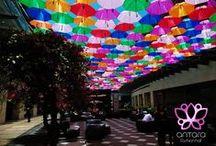 Umbrella Hall / Ven a vivir un verano lleno de color con nosotros, ¡disfruta del #umbrellahall! #Antara #Polanco #CDMX #Color #Summer