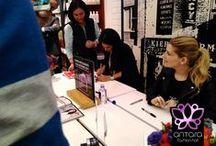 Firma de autógrafos / Firma de autógrafos en #Kiehls con Martha y Eugenia Debayle. #Summer #Polanco