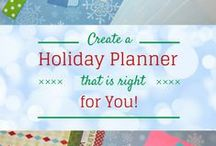 Holiday Planners / Holiday planners and printables to help you organize and manage all your holiday to-dos