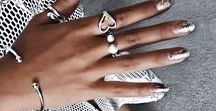 Nails and Jewellery / Our inspo on beautiful nails and how to pair up with pretty rings.  https://winterandco.com.au/