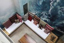 Interior wall and seiling painting / by Alexandra Bezrukova
